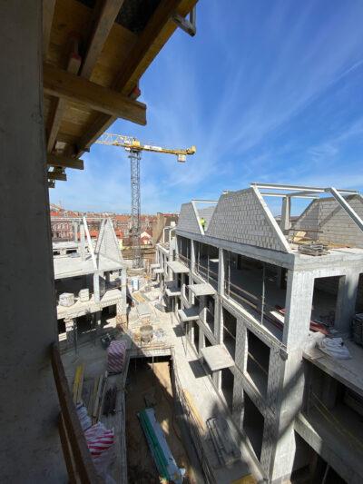 Statybų eiga 2020 balandis